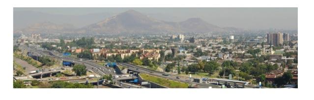 panoramica de Santiago 2